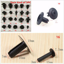 100Pcs Auto Fastener Screw Rivet Clip For Car Dashboard DVD Center Console Panel