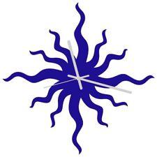 Euphyllia-Bad Hair Day Wall Clock 34cm Blue (e9577blu)