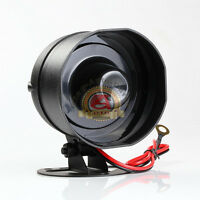 New Small MULTI-TONE Universal Car Alarm Security Siren Horn 12V Loud