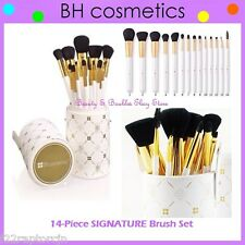 NEW BH Cosmetics 14-Piece SIGNATURE MAKEUP Brush Set w/Cup Holder FREE SHIPPING