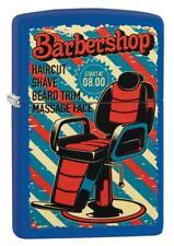 Zippo Barber Shop Friseur Lighter Benzin Sturm Feuerzeug