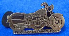 UNIVERSAL CITYWALK OSAKA PEWTER SILVER MOTOR CYCLE BIKE 2005 Hard Rock Cafe PIN