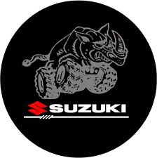 Suzuki Rhino Housse Roue autocollant jimmny VITARA sj40 Autocollant Angry Rhino