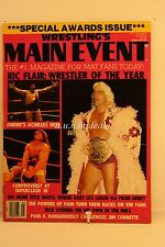 wrestling's Main Event - Rick Flair Wrestler Of The Year, May 1989