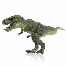 Tyrannosaurus Rex Dinosaur Figure Toy Kids Children Birthday Xmas Gifts Celadon