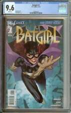 BATGIRL #1 CGC 9.6 WHITE PAGES