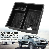 AU Armrest Center Console Storage Glove Box For Toyota Hilux 2004-2014 Tray Case