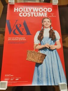 Hollywood Costume Exhibition - London V&A Poster - Wizard of Oz (Dorothy) RARE