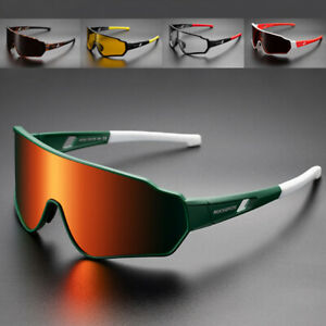 HD Polarized Cycling Sunglasses Men Women Photochromic Unisex Bicycle Goggles