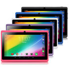 iRULU 7'' Tablet PC Google Android 4.4 PAD 8GB/16GB Quad Core Dual Cameras WIFI