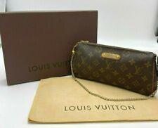 Auth Louis Vuitton Monogram Eva M95567 Pouch NS10-0294 Complete Set