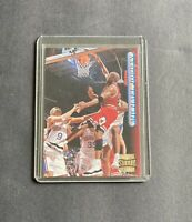 Michael Jordan 1996 Topps Stadium Club Holo Foil #101 NM Rare Bulls Centred
