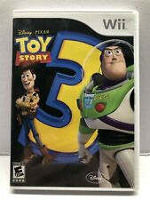 Toy Story 3 Nintendo Wii Game - Complete w/ Manual - Clean & Tested - Free Ship