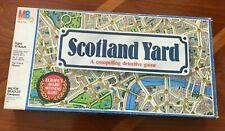 Scotland Yard, Milton Bradley, 1985, Good Condition Game