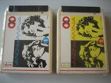"MINA & VANONI ""vol1 & Vol2"" Cassette stereo8 SIGILLATE!"