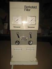 Berkefeld Amartur Amarturenplatte f Wasserfilter Filteranlage Anzeigen m Hähnen