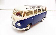 Volkswagen Classic Bus 1/24 KINSMART Bleu Diecast NEUF