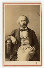 PHOTO CDV Paris Félicien DAVID compositeur par NADAR composer