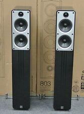 Q Acoustics Concept 40 Lautsprecher Paar Hochglanz Schwarz/Piano Black Neu