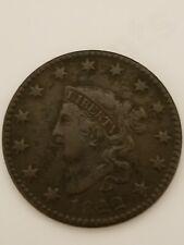 1822 Large Cent XF Details