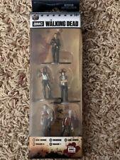 THE WALKING DEAD 5pc Die-Cast Figures Set NEW!