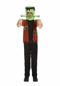 Children Unisex Monster Costume Halloween Horror Scary  Fancy Dress Party Outfit
