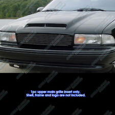 Fits 1994-1996 Chevy Impala SS Black Billet Grille Grill Insert