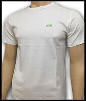 Hugo Boss  0 Neck Color Short Sleeve 100% Cotton T/Shirt Green Label