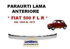 * LAMA PARAURTI ANTERIORE FIAT 500 F L R dal 1965 al 1975 CROMATA