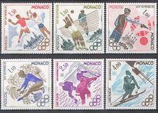 Monaco 1980 Olympic Games/Sports/Olympics/Handball/Ice Hockey/Shooting 6v n39408