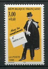 FRANCE 1996 timbre 3026, CELEBRITES', ARSENE LUPIN, neuf**, CELEBRITY, MNH STAMP