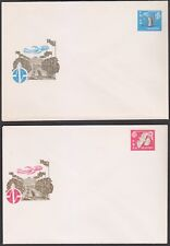 Russia Soviet Union 1968 2 Original stamp covers Mint. Extremely Rare!