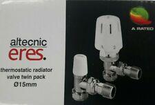 ALTECNIC THERMOSTATIC RADIATOR VALVE TWIN PACK 15MM