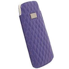 Krusell Avenyn Tasche für Apple iPhone 5 in lila L Long Handy Tasche Hülle 95392