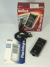 Vintage Braun Flex Integral 5414 5476 Rechargeable Shaver
