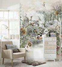 Wall Mural Wallpaper 254x184cm Large Photo Decor White Nature Japanese Garden 3d
