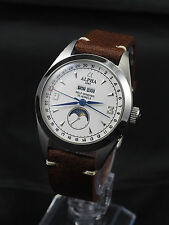 Alpha Vintage Moon Phase men's mechanical automatic watch 35 jewels