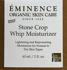 Eminence Stone Crop Whip Moisturizer 2oz(60ml) Brand New