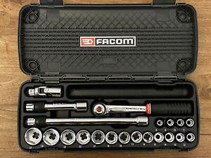 Facom CDX SJ.431A Socket Set - ⅜ ½ - 8-27mm