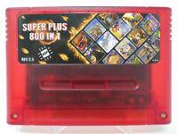 800 in 1 DSP 2.5 Super Nintendo SNES Flash Multi Cartridge 8GB SD Card Like ED64