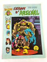 BD Comic  Les Vengeurs L'Assaut d'Arsenal 1982 Artima Marvel  Envoi rapide suivi