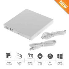 External USB Combo Optical Drive CD/DVD Player CD Burner for PC Laptop Win7 8 WN