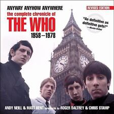 The Who Anyway, Anyhow, Anywhere The Complete Chronicle 1958-1978 Rock and Roll