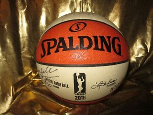 Phoenix Mercury WNBA Game Used Team Spalding Basketball Signed Diana Taurasi