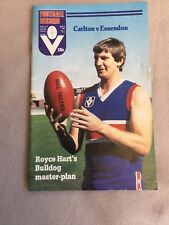 VFL Football Record 1982  Carlton V Essendon