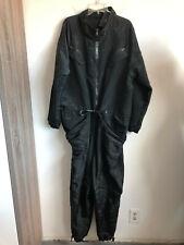 Jordan Brand CU1996-010 Black Nylon Blend Zip Front Flight Suit Jumpsuit 2XL