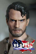 1/6 Henry Cavill Superman Head Sculpt 3.0 Clark Kent For Phicen Hot Toys ❶USA❶