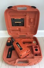 Paslode 900420 Cordless IMCT Framing Nailer charger and battery Storage Case
