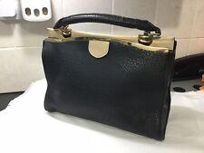 DOROTHY PERKINS Black / Cream Faux Leather Hand Bag