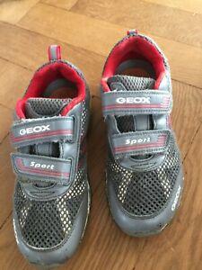 Geox Turnschuhe Gr. 36  Respira Leucht Klett Blinkerschuhe Sneaker Blinkeschuhe
